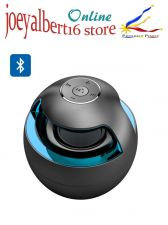 Buy Portable Bluetooth Speaker / Magic Black Ball - Stereo Sound, LED lights, Blueto
