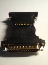 Buy Gender Changer: DB25 Male to Male 25 pin Parallel Cable Adapter Gold-Plated