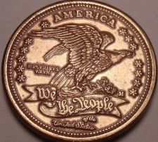 Buy Huge America We The People Massive Medallion~Eagle~Free Shipping