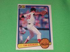 Buy VINTAGE Tom Burgmore Red Sox Superstat 1983 Donruss Baseball GD-VG