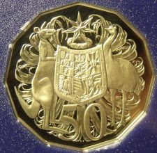 Buy Cameo Proof Australia 1983 50 Cents~We Have Australian Proofs~80,000 Minted~Fr/S