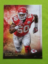 Buy NFL 2015 TOPPS VALOR JUSTIN HOUSTON CHEIFS SUPERSTAR MNT