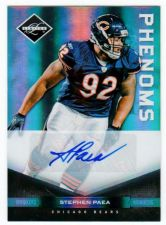 Buy NFL 2011 PANINI LIMITED STEPHEN PAEA AUTO RC /199 MNT