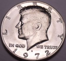 Buy United States Unc 1972-D Kennedy Half Dollar~Free Shipping