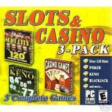Buy SLOTS & CASINO 3 PACK PC VIDEO GAMES-----NEW