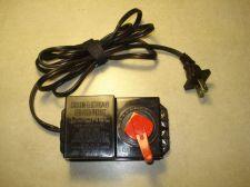 Buy LIONEL ac dc TRANSFORMER train POWER SUPPLY adapter plug model 4660 17vdc 20vac