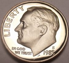 Buy United States Proof 1985-S Roosevelt Dime~Fantastic~Free Shipping