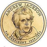 Buy 2008-P ANDREW JACKSON UNC PRESIDENTIAL DOLLAR~FREE SHIP