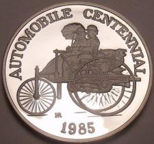 Buy Rare Silver Proof Hutt River 1985 $25.00~Automobile Centennial~5000 Minted~Fr/Sh