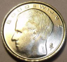 Buy Gem Unc Belgium 1989 Franc~1st Year Ever Minted~BOUDEWIJN I~Free Shipping