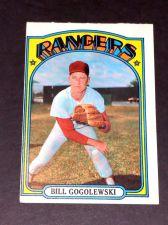 Buy VINTAGE BILL GOGOLEWSKI RANGERS 1972 TOPPS #424 GD-VG