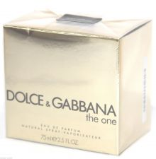 Buy Dolce & Gabbana THE ONE EDP 75ml 2.5oz Eau de Parfum Perfume NEW BOX & ORIGINAL