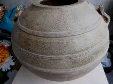 Buy LARGE WESTERN HAN DYNASTY (206BC-220AD) OLIVE GREEN CELADON GLAZED JAR