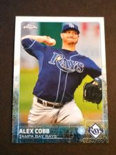 Buy MLB ALEX COBB RAYS SUPERSTAR 2015 TOPPS CHROME #33 MNT