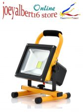 Buy Portable Outdoor Flood Light + Camping Light - 30W, 2550 Lumens, Rotates 360 Deg