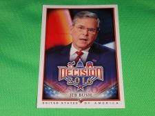 Buy 2016 Presidential Decision Influencers Jeb Bush Collectible trading card MNT