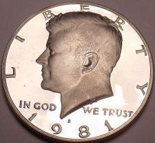Buy United States Proof 1981-S John F. Kennedy Half Dollar~Free Shipping