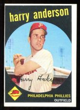 Buy 1959 TOPPS HARRY ANDERSON, #85, NM (59T0051)