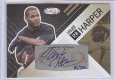 Buy NFL 2011 SAGE JAMIE HARPER AUTO RC /200 MNT
