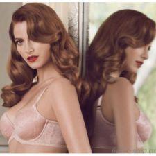 Buy XB0150 Scandale NEW Rose No. 4 SC02H-0004 Eyelet Grace Lace Seamless UW Bra 38C