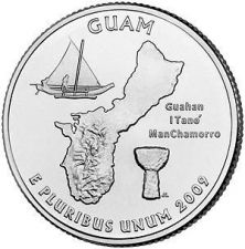 Buy 2009-P GUAM TERRITORIAL QUARTER~FREE SHIPPING~~SUPER~~