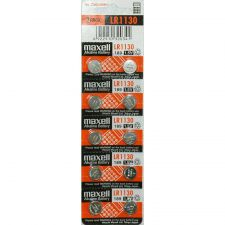 Buy Maxell Batteries LR1130 (189, LR54, AG10) Alkaline Button Size Battery,10 Pack