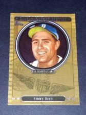Buy MLB SIBBI SISTI 2007 TOPPS DISTINGUISHED SERVICE INSERT #DS14 GD-VG