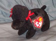 Buy RETRO ORIGINAL TY BEANIE BABY PLUSH GIGI BLACK POODLE COLLECTIBLE NICE