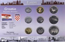 Buy Croatia 9 Coin Set