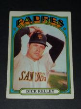 Buy VINTAGE DICK KELLY PADRES 1972 TOPPS #412 GD-VG