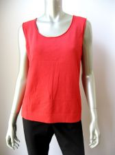 Buy Jones New York NEW Brick Rayon Nylon Blended Scoop Neck Sleeveless Cami Tank XL