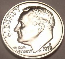 Buy United States Proof 1973-S Roosevelt Dime~We Have Roosevelts~Free Shipping
