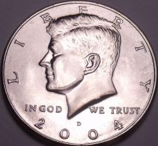 Buy United States Unc 2004-D Kennedy Half Dollar~Free Shipping