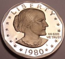 Buy Cameo Proof 1980-S Susan B. Anthony Dollar~ See All Our Proofs~Free Shipping