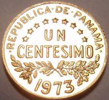 Buy PROOF PANAMA 1973 1 CENTESIMO~URRACA~SEE R PROOFS~FR/SH