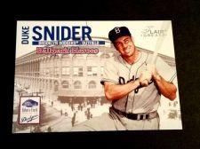 Buy MLB DUKE SNIDER DODGERS HOF 2003 FLEER BASEBALL GREATS INSERT #7/9 GD-VG