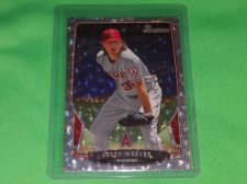 Buy MLB Jered Weaver 2015 Bowman Silver Ice 9 MNT