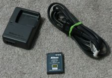 Buy NIKON MH 65 charger w/EN EL12 BATTERY camera power supply adapter cord CoolPiX