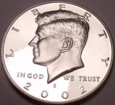 Buy 2002-S SPECTACULAR GEM PROOF KENNEDY HALF~FREE SHIPPING