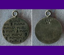 Buy STERLING SILVER CHARM : MOTHER IN MANY LANGUAGES