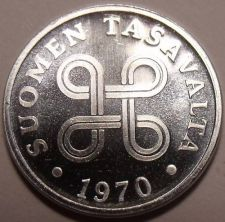 Buy Gem Uncirculated Finland 1970 1 Penni~Great Price~Free Shipping