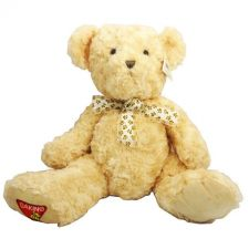 Buy Dakin 14 Inch Teddy Bear With Bowtie, Beige