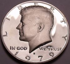 Buy United States Proof 1979-S Type 1 John F Kennedy Half Dollar~Free Shipping