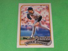 Buy MLB Mike Dunn Pirates 1989 Topps Baseball GD-VG