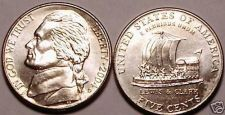 Buy 2004-D BRILLIANT UNC KEELBOAT NICKEL~FREE SHIPPING~NICE