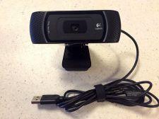 Buy Logitech Webcam USB Carl Zeiss Tessar Lens Optics PC Laptop computer
