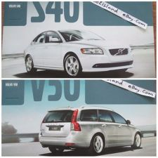 Buy Volvo S40 V50 Car Photo Brochure Accessories Catalog Book Eng Thai Text 24 pages