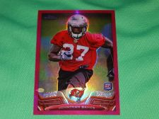 Buy NFL Jonathan Banks Buccaneers 2014 Topps Chrome Pink Refractor Rc /399 Mnt