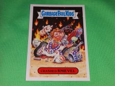 Buy RARE 2016 Crashed Knievel GARBAGE PAIL KIDS Collectors Card Mnt