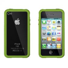 Buy XtremeMac iPhone 4 Green Microshield Accent Case